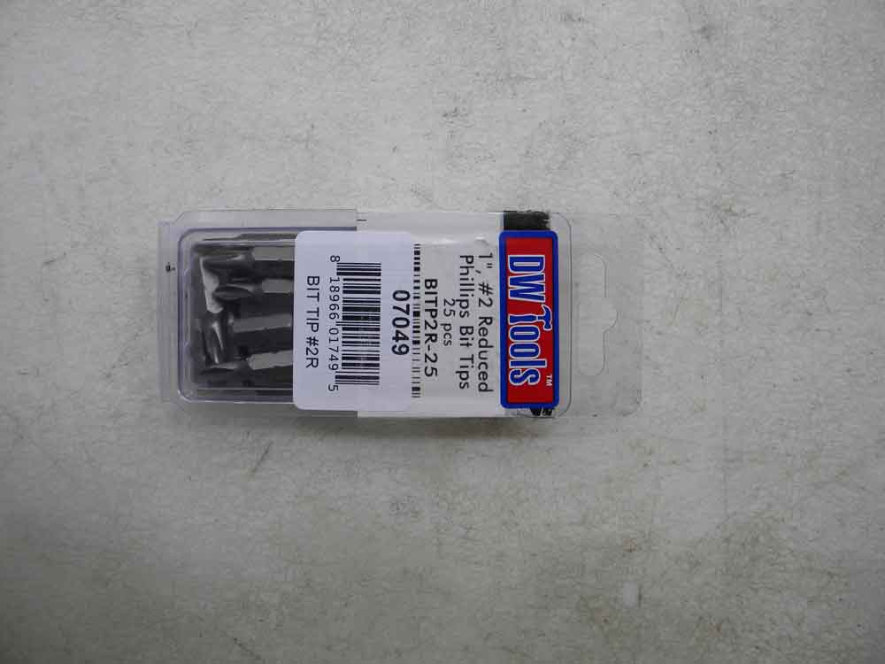 REDUCED BIT TIPS 07049
