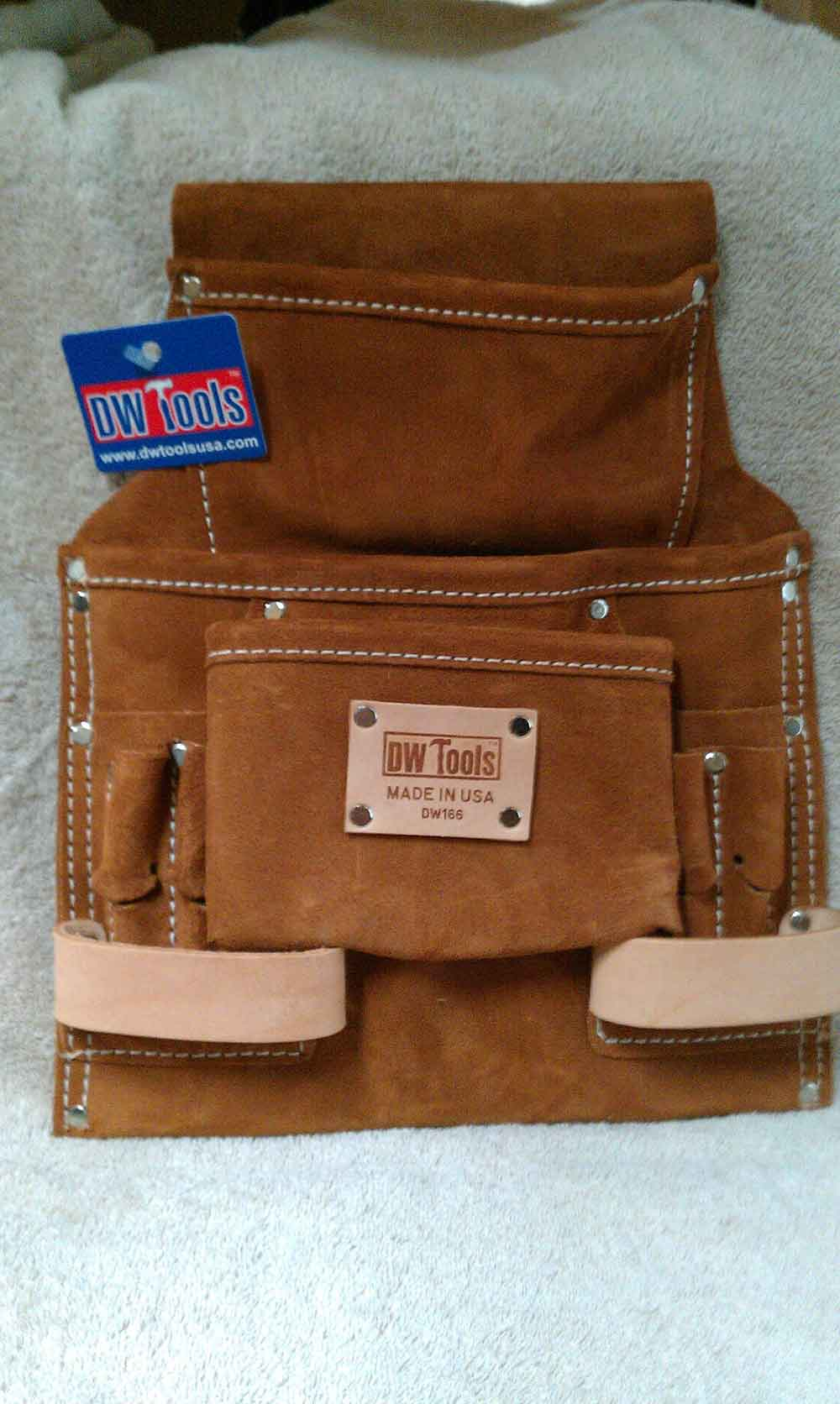 10 POCKET TOOL POUCH DW166